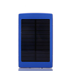10000mAhmAhBank-externer Batterie Solarlade / Taschenlampe 10000mAh 1000mA Solarlade / Taschenlampe