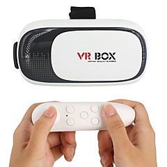 VR  3D Glasses 2.0 Version Virtual Reality Video Movie Game Glasses Headset with Bluetooth Remote Controller