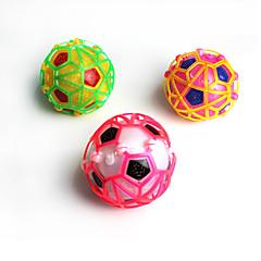 ライトアップおもちゃ ゲーム玩具 球状 プラスチック 虹色 フリーサイズ