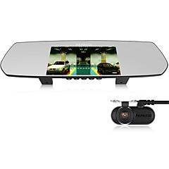 PAPAGO M30 Ambarella A8 1080p DVR רכב 5 אינץ' מסך OV4689/OV9712 דש מצלמת