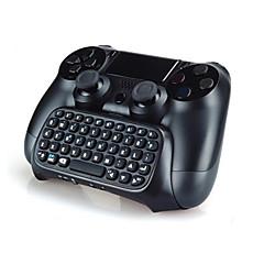PS4 컨트롤러에 대한 미니 무선 chatpad 텍스트 채팅 메시지 게임 컨트롤러 키보드 콘솔을 블루투스