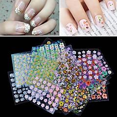 30pcs Nagel-Kunst-Aufkleber 3D Nails Nagelaufkleber Make-up kosmetische Nail Art Design