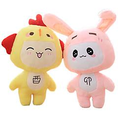 Мягкие игрушки Rabbit / Цыпленок Мультяшная тематика / Милый Необычные игрушки Мальчики / Девочки Плюш