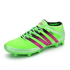 Fußball-Schuhe Herrn Rutschfest Anti-Shake Wasserdicht Luftdurchlässig im Freien Halbschuhe PVC Leder Fussball