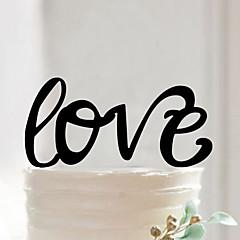 Figurki na tort Non-spersonalizowane Akrylowy Ślub / Rocznica / Prysznic dla nowożeńców CzarnyMotyw Garden / Asian Theme / Kwiatowy Motyw