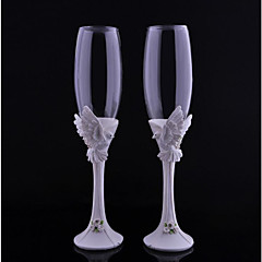 Crystal Toasting Flutes 1 Non-personalised Gift Box