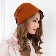 Mulheres Liga Lã Capacete-Ocasião Especial Casual Chapéus 1 Peça