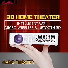 800WM DLP WXGA (1280x800) 프로젝터,LED 400 Lumens 미니 휴대용 HD Android 무선 3D DLP 프로젝터