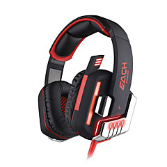 KOTION EACH G8200 Kopfhörer (Kopfband)ForComputerWithLautstärkeregler / Spielen / Sport