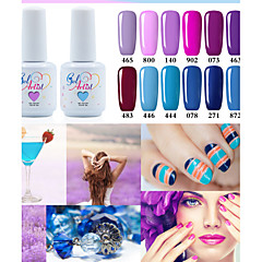 Nail Polish UV Gel 15ml 1picec Schitteren / UV Kleurgel Losweken Long Lasting