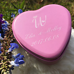 6 Piece/Set Favor Holder-Heart-shaped Metal Favor Boxes Candy Jars and Bottles Gift Boxes Personalized