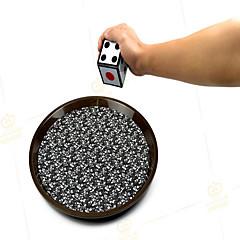 Magische Zauberstücke Freizeit Hobbys Kreisförmig Metall Schwarz 14 Jahre & mehr