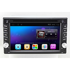bonroad 6.2inch bilstereo usb sd wifi audio radio bt video multimedieafspiller android 6,0 ​​1024 * 600 quad core 1gb usb