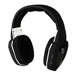 Wireless Stereo Gaming Headset for Xbox One/Xbox 360/PS4/PS3/PC Video Game Headphones with Detachable Microphone Optical Fiber 2.4G