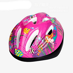 Sports Kid's Bike Helmet 9 Vents Cycling Cycling Small: 51-55cm PVC Red Others