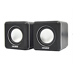 Boekenplank computer speaker 2.0 Stereo surround sound Super Bass