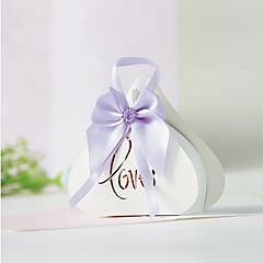 12 Darab / készlet Favor Holder-Kreatív Kártyapapír Ajándék dobozok Ajándékdobozok Nem személyre szabott