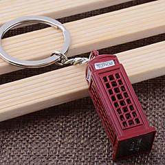 Aço Inoxidável Favors Chaveiros-1 Piece / Set Chaveiros Tema Clássico Personalizado Vermelho