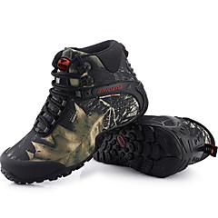 נעלי ספורט מגפי שלג נעלי הרים בגדי ריקוד גברים נגד החלקה Anti-Shake ריפוד אוורור פגיעה עמיד למים לביש נושם עמיד בפני שחיקה סוליה גבוההעור
