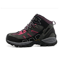 Bergschuhe Sneaker Schneestiefel Damen Rutschfest Anti-Shake Polsterung Belüftung Wirkung Wasserdicht tragbar Atmungsaktiv Über dem