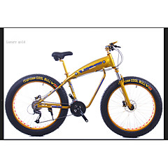 Snow bike Mountain Bikes Cykling 27 trin 26 tommer (ca. 66cm)/700CC Shimano Olieskivebremse Affjedringsgaffel Aluminiumslegeret ramme