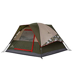 MOBI GARDEN® 1 person Tent Double Automatic Tent One Room Camping Tent OxfordWaterproof Breathability Ultraviolet Resistant Windproof