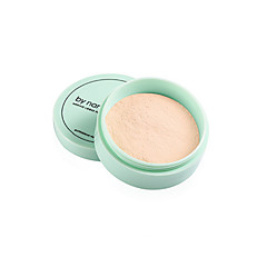 1Pcs Translucent Pressed Powder With Puff Smooth Face Makeup Foundation Waterproof Loose Powder Skin Powder