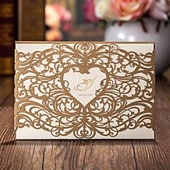 Wrap & Pocket Wedding Invitations 50-Invitation Cards Classic Style Card Paper