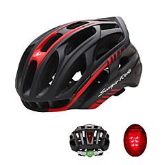 Esportivo Unisexo Moto Capacete 36 Aberturas Ciclismo Ciclismo L: 59-63 cm PC EPS Branco Verde Vermelho Preto Azul Outras Prateado
