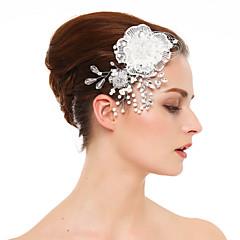 נשים תחרה ריינסטון קריסטל כיסוי ראש-חתונה אירוע מיוחד מסרקי שיער חלק 1