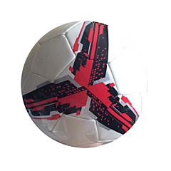 Football(Blanc Rouge,Polyuréthane)Haute élasticité Durable