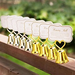 1pcs Beter Gifts® Kissing Bell Place Card Holder 4.5 x 4.5 x 7.5 cm/pcs