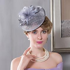נוצה פשתן כיסוי ראש-חתונה אירוע מיוחד קז'ואל חוץ קישוטי שיער כובעים חלק 1