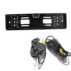 駐車支援システムの無線車のリアビューカメラのオート4LED CCD 1080 HDはバックミラーユニバーサルバックアップカメラ防水ナイトビジョンを逆転します