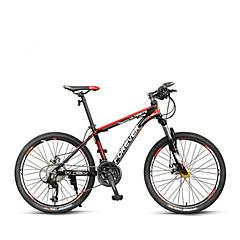 Mountain Bike Cycling 27 Speed 26 Inch/700CC 40mm Double Disc Brake Suspension Fork Aluminium Alloy Frame Ordinary/StandardAluminium