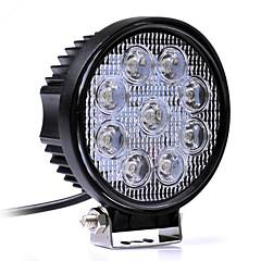 27ワットの白色6000Kは車のヘッドライト作業灯を導いた作業ライトヘッドランプトラックのオートバイの道路フォグランプトラクター車スポットライト導きました