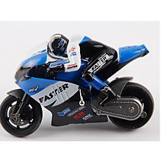 Motorcykel JJRC 1:16 Gas Radiostyrd bil AM Blå Färdig att köra Fjärrkontroll bil