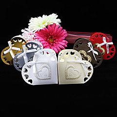 25 Stück / Set Geschenke Halter-Herzförmig Kartonpapier Geschenkboxen Nicht personalisiert
