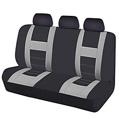 2017 siège de voiture universel couvre couleur gris noir housses de siège arrière