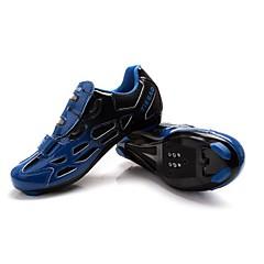 Sapatos para Ciclismo Unisexo Respirável Vestível Ao ar Livre Fivela Courino Ciclismo