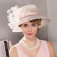 Penas Capacete-Casamento Ocasião Especial Casual Ao ar Livre Fascinador Chapéus 1 Peça