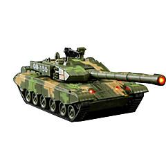 Panssarivaunu Taaksepäin vedettävät ajoneuvot auton Lelut Metalli Vihreä Pienoisautot ja leikkiautot