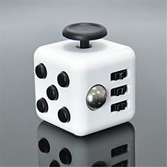 reliever Angst zappeln Würfel kubische Würfel zappeln Spielzeug für die Fokussierung / Spannungsarmglühen abs --- weiß