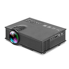 UC40 LCD WVGA (800x480) Proyector,LED 600 HD Wireless Proyector