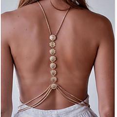 Női Testékszer Body Lánc / Belly Chain Divat Ötvözet Arany Ezüst Ékszerek Mert Sport 1db