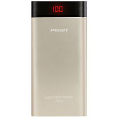 Pisen® led10000 10000 mah power bank tragbare externe batterie