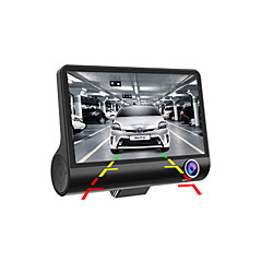 HD Dual Lens  Car DVR 1080P Car Camera Recorder Dash Cam G-sensor Video Registrator Camcorder WDR Night Vision Auto DVRs Tachograph