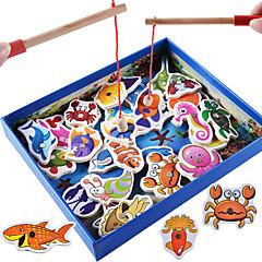 Byggeklosser Pedagogisk leke som Gave Byggeklosser Hobbyprodukter Fisk 5 til 7 år Leketøy