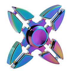 kleurrijke fidget spinner toy minuten spinning time high-speed edc focus speelgoed voor het doden van de tijd --- 1 stuks