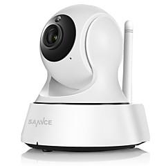 sannce® draadloze mini ip bewakingscamera wifi 720p nachtzicht CCTV-camera babyfoon